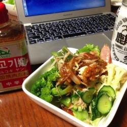 生野菜が無限に食べられるドレッシング サンダイナー食品プルコギヤン(韓国焼肉たれ)