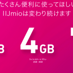 IIJmioが10月から容量倍増キャンペーン。SIMフリーiPhoneにぴったり!