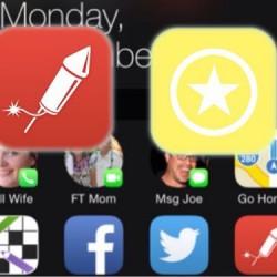 iOS8でもホームボタンを使わずに通知センターからホーム画面に戻れるぞ。【iPhone活用方法】
