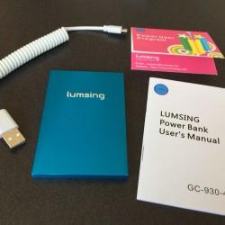 コスパ抜群な薄型コンパクトモバイルバッテリーLumsingがおすすめ。大容量タイプと使いわけよう