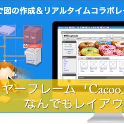 【OL・サラリーマン必見!】オフィスレイアウトをエクセルで作るのはやめよう!無料のワイヤーフレーム作成ツール「Cacoo」が大変便利です