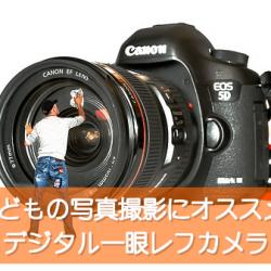 子どもの写真用に一眼レフカメラを選ぶならCanon EOS 70Dダブルズームキットがおすすめ!動画もWi-Fiも便利だよ